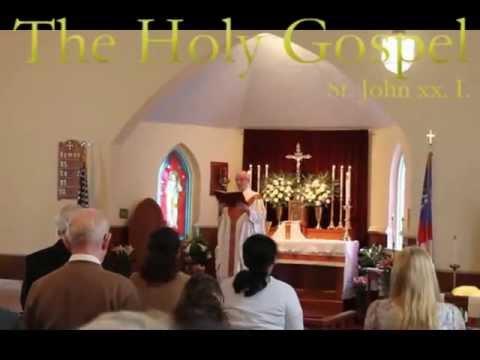 Easter, 2013 at Holy Spirit Anglican Church, Hatfield, Pennsylvania