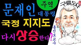 """사주/운세/역학/철학 """"주역"""" 문재인대통령 지지도 다시상승한다?를 육효 풀이한 강의입니다~…"""
