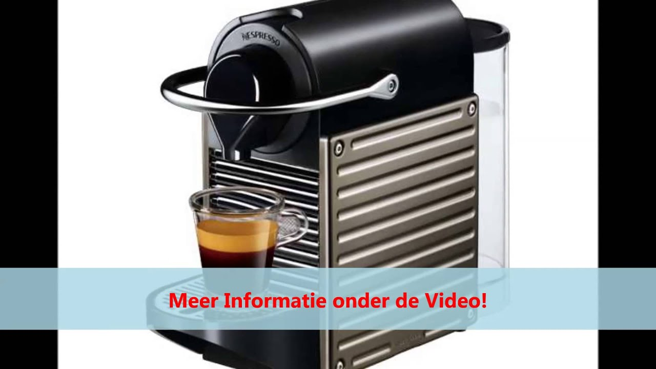 krups nespresso apparaat pixie xn3005 youtube. Black Bedroom Furniture Sets. Home Design Ideas