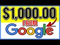 How To Make Money Online With Google (EASY $1000+ Per Month)