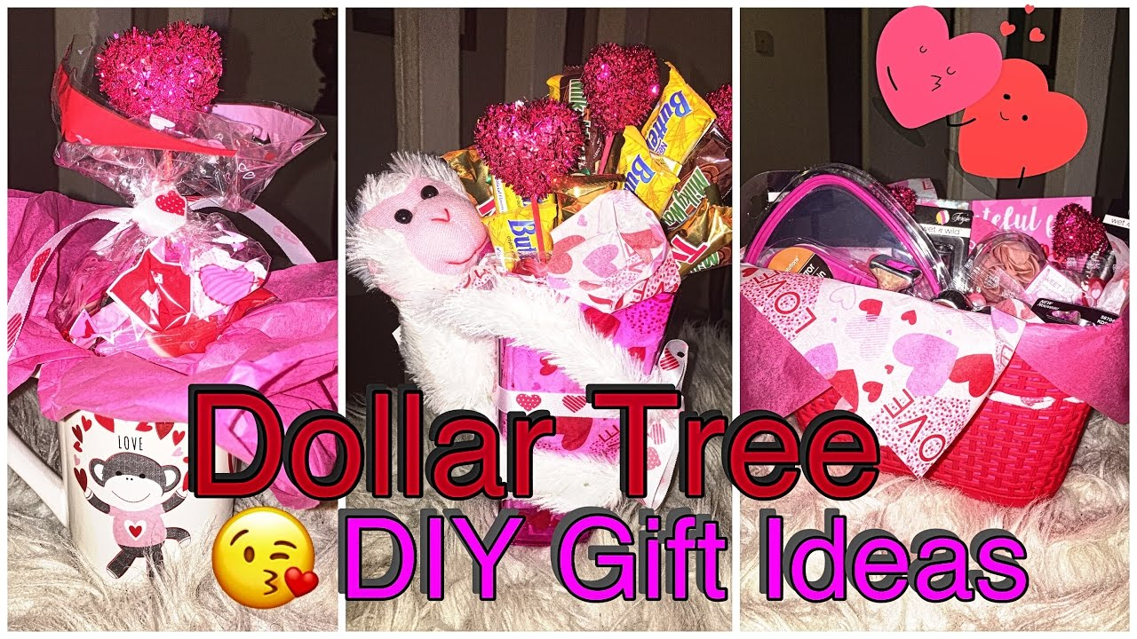Dollar Tree Diy Last Minute Valentines Day Gift Ideas Youtube