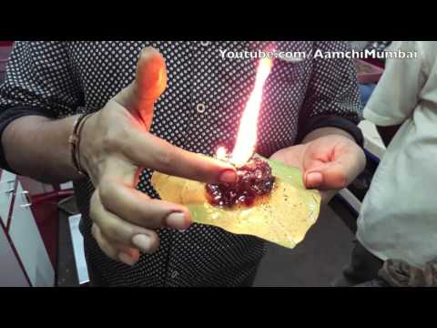 Fire Paan in Mumbai | Burning Hot Mouth Freshener | Indian Street Food