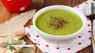 Постный суп-пюре из зеленого горошка. Видео-рецепт