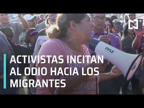 Activistas incitan al odio hacia la Caravana Migrante de Honduras - En Punto con Denise Maerker