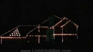 Xmas Lights to Music - Holiday House 2006 - Fantasmic