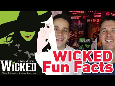 Wicked Fun Facts (Idina als Zweitbesetzung & 24h Musical)