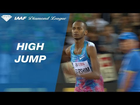 Mutaz Barshim Jumps 2.36 to Win the Men's High Jump - IAAF Diamond League Zürich 2017