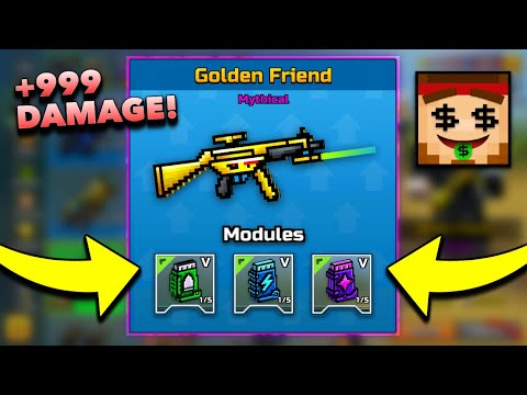 How To Make ANY WEAPON Powerful! | 3-Cat Spam + Raids! | Pixel Gun 3D - New Update 16.2.0 [Review]