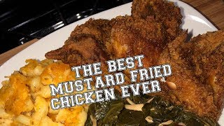 Cuttin Up With Bae: How To Make Easy Simple Mustard Fried Chicken