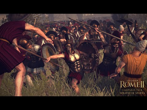 Total War: Rome II - Wrath of Sparta - Sparta Faction - Showcase & Overview