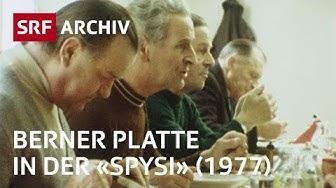 Suppenküche «Spysi» in Bern (1977)   Wohltätige Vereine und Institutionen   SRF Archiv