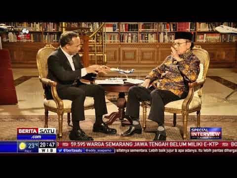 Special Interview BJ Habibie: Jokowi, Pesawat R80, dan My Way #4