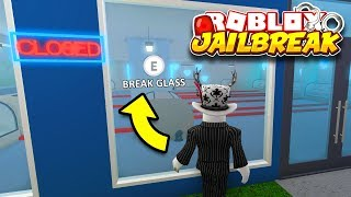 I Built The JAILBREAK JEWELRY STORE In BLOXBURG... AND ROBBED IT!! | Roblox Jailbreak in Bloxburg