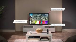 LG UJ630V ULTRA HD 4K TV