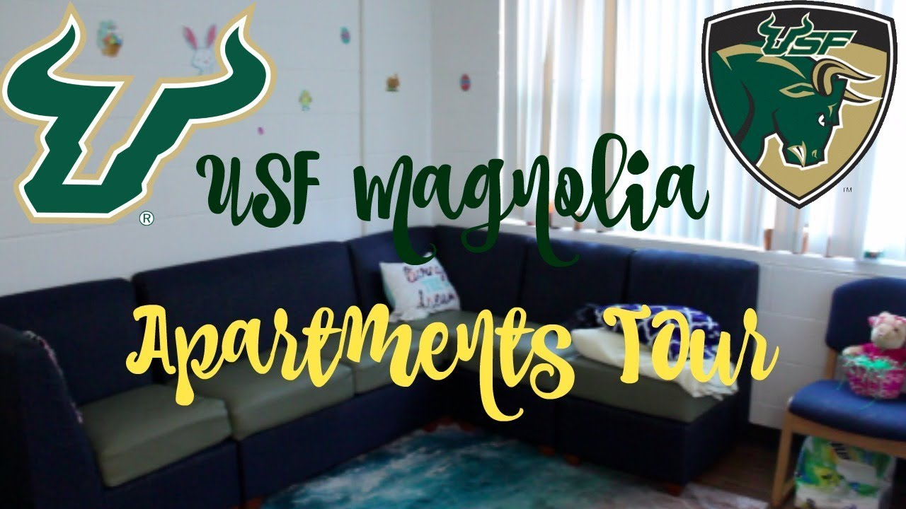 College Dorm Tour Usf Magnolia Apartments 2018