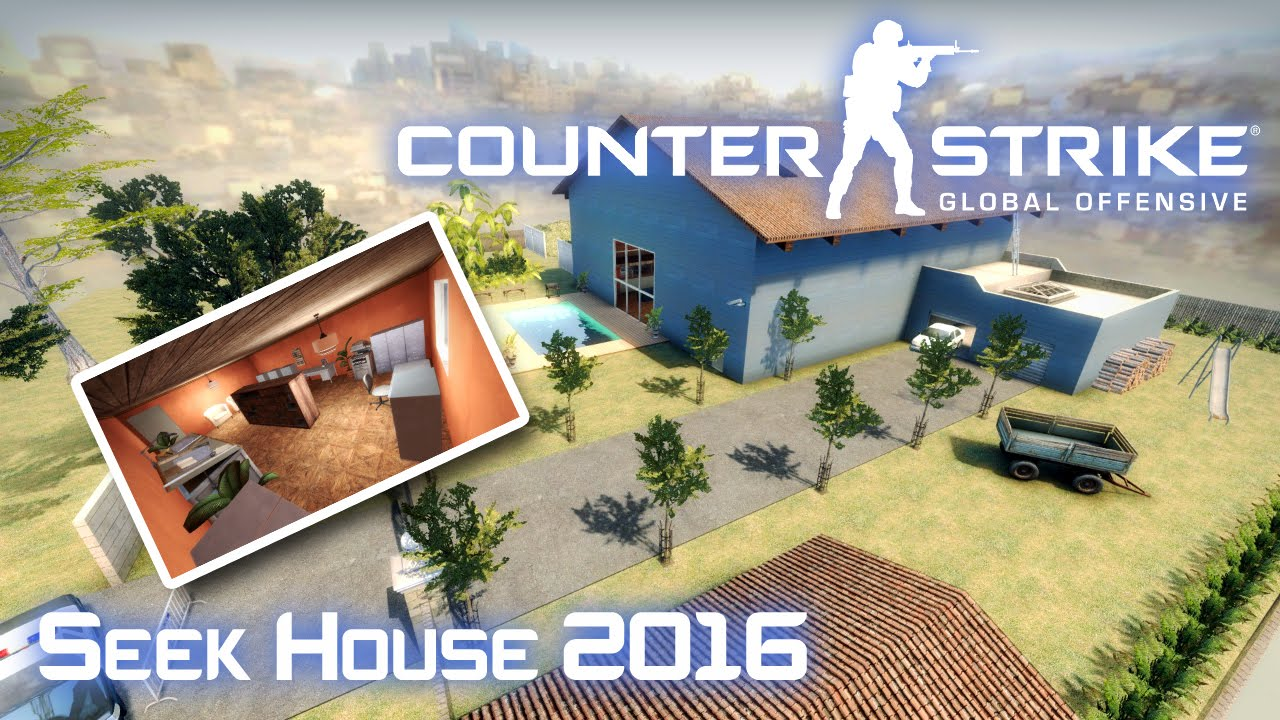 CSGO Custom Map Seek House 2016