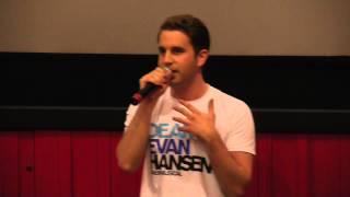 Ben Platt Sings from Dear Evan Hansen