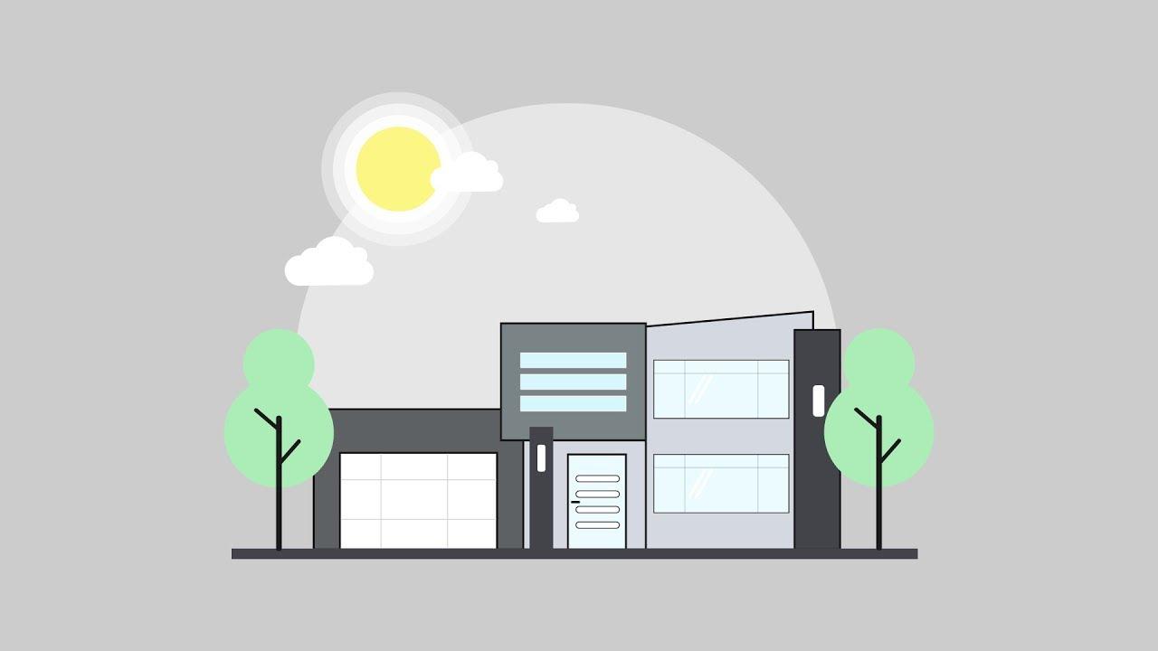 Illustrator Tutorial Modern House Vector Design Sopheap Design