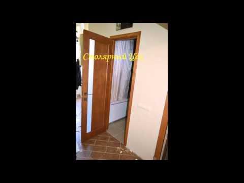 Двери межкомнатные из сосны (наша работа в Харькове 2015)