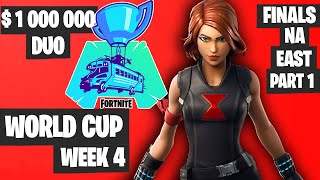 Fortnite World Cup WEEK 4 Highlights Final NA East DUO Part 1 [Fortnite Tournament 2019]