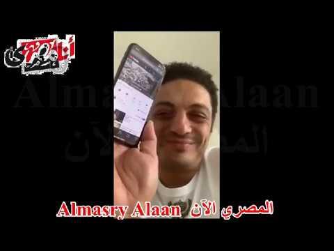 الممثل محمد علي يهدي الرئيس السيسي قصيدة الأبنودي احنا الشعب ولاد الكلب