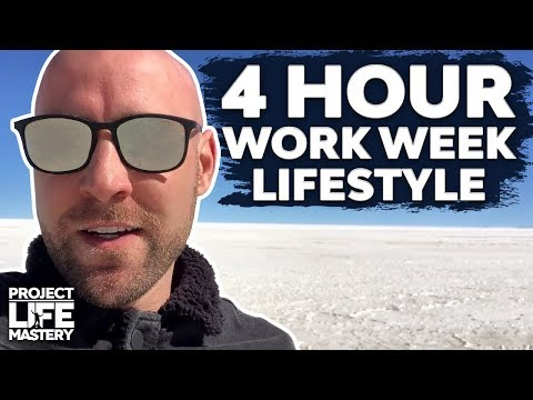 How To Live The 4-Hour Work Week & Make $100,000+ Per Year