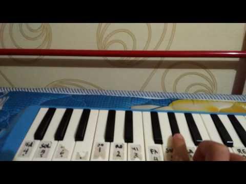 Fadhli27 bermain pianika lagu galau