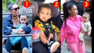 Kim Kardashian's Kids 2019  [  Saint West, North West, Chicago West ]