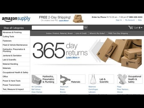 Amazon's Industrial-Size Shopping Cart