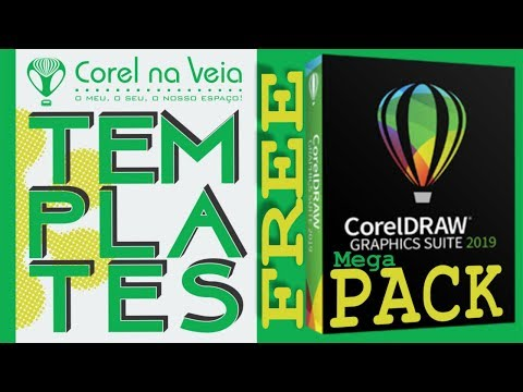 Mega Pack de Templates FREE CorelDRAW 2019 thumbnail
