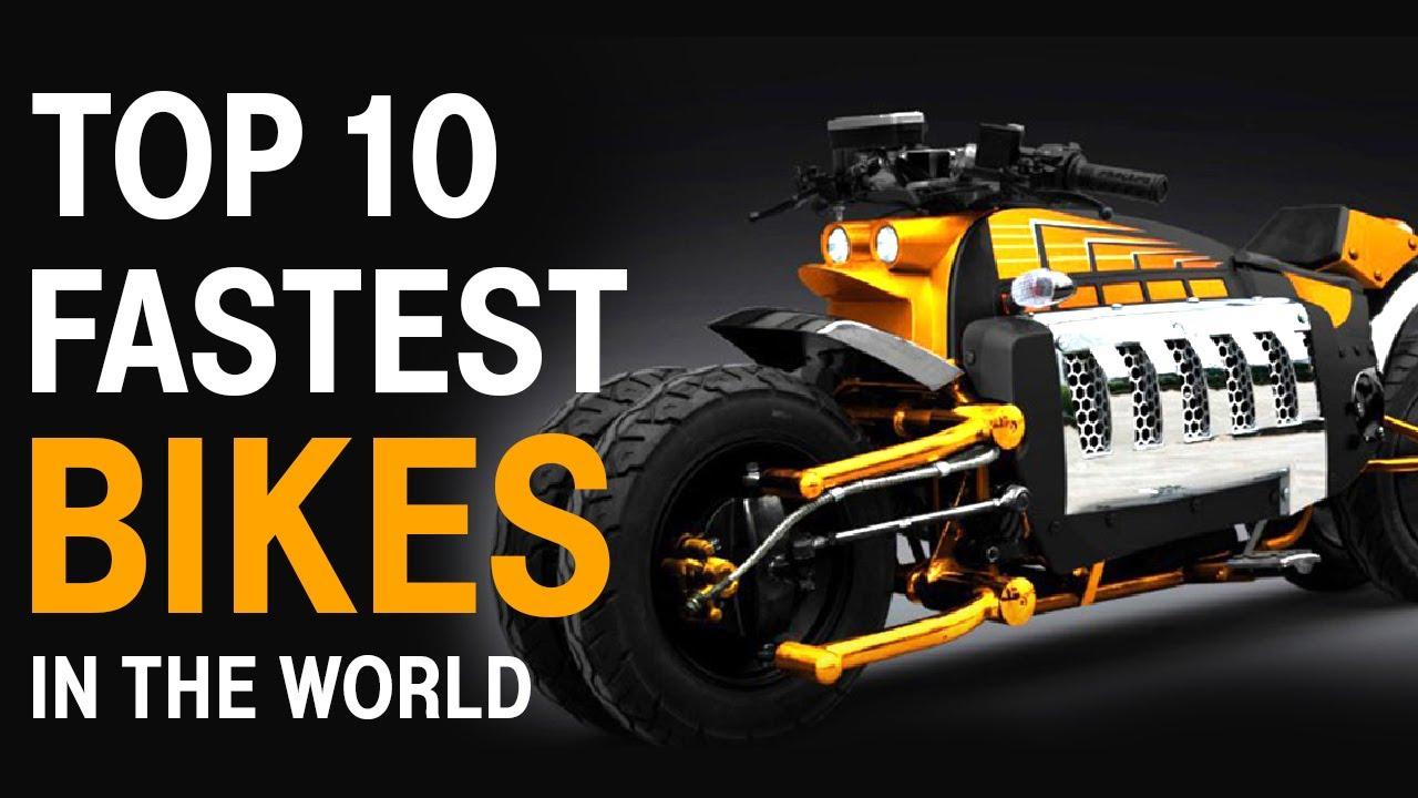 Top 10 Fastest Motorcycles In The World | CarMyCar