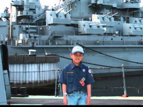 Battleship Cove overnight