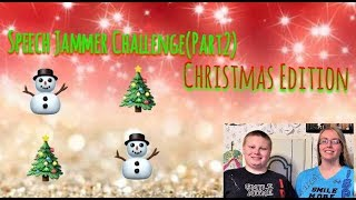 Speech Jammer Challenge(Part2) Christmas Edition. ⛄️🎄