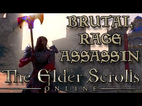 RAGING BRUTAL BUTCHER ASSASSIN! (Elder Scrolls Online Thieves Guild DLC Heist)
