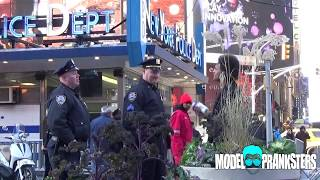 Shaking Protein In Front Of Cops Prank!