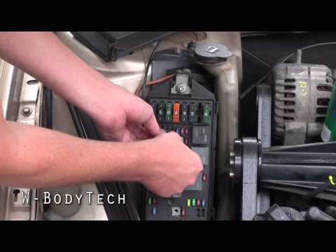 W-BodyTech - HowTo bypass the FuelPump Relay on any 1997-2008 GM W-Body Vehicle