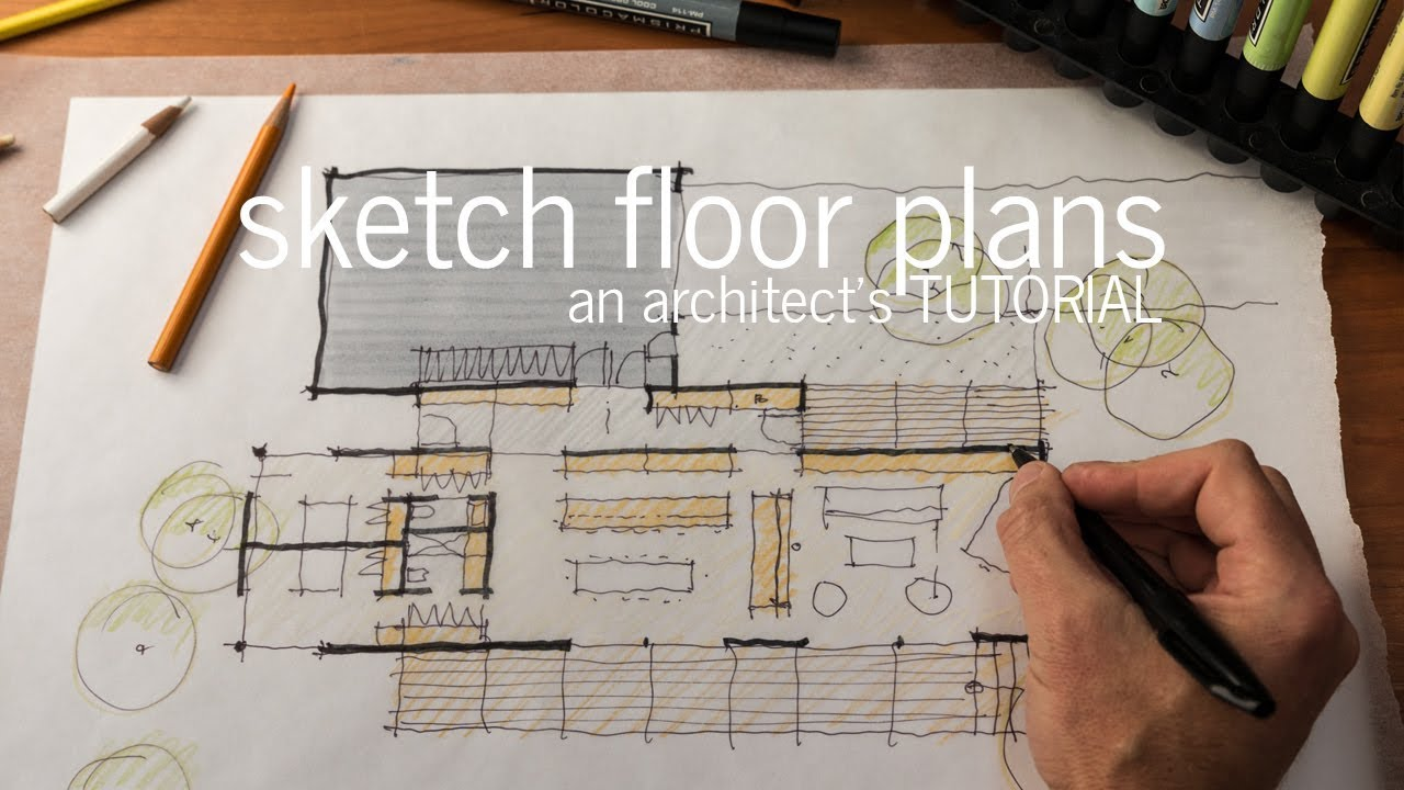 hight resolution of floor plan design tutorial