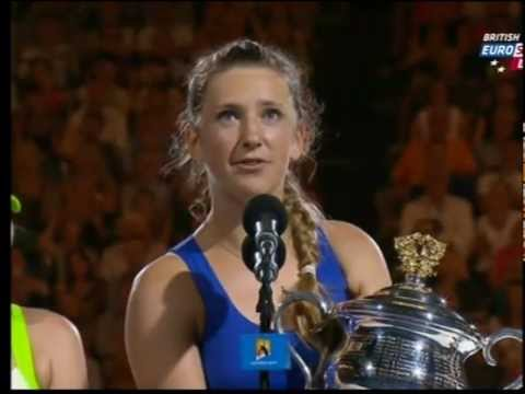 Victoria Azarenka wins the Australian Open (2012)