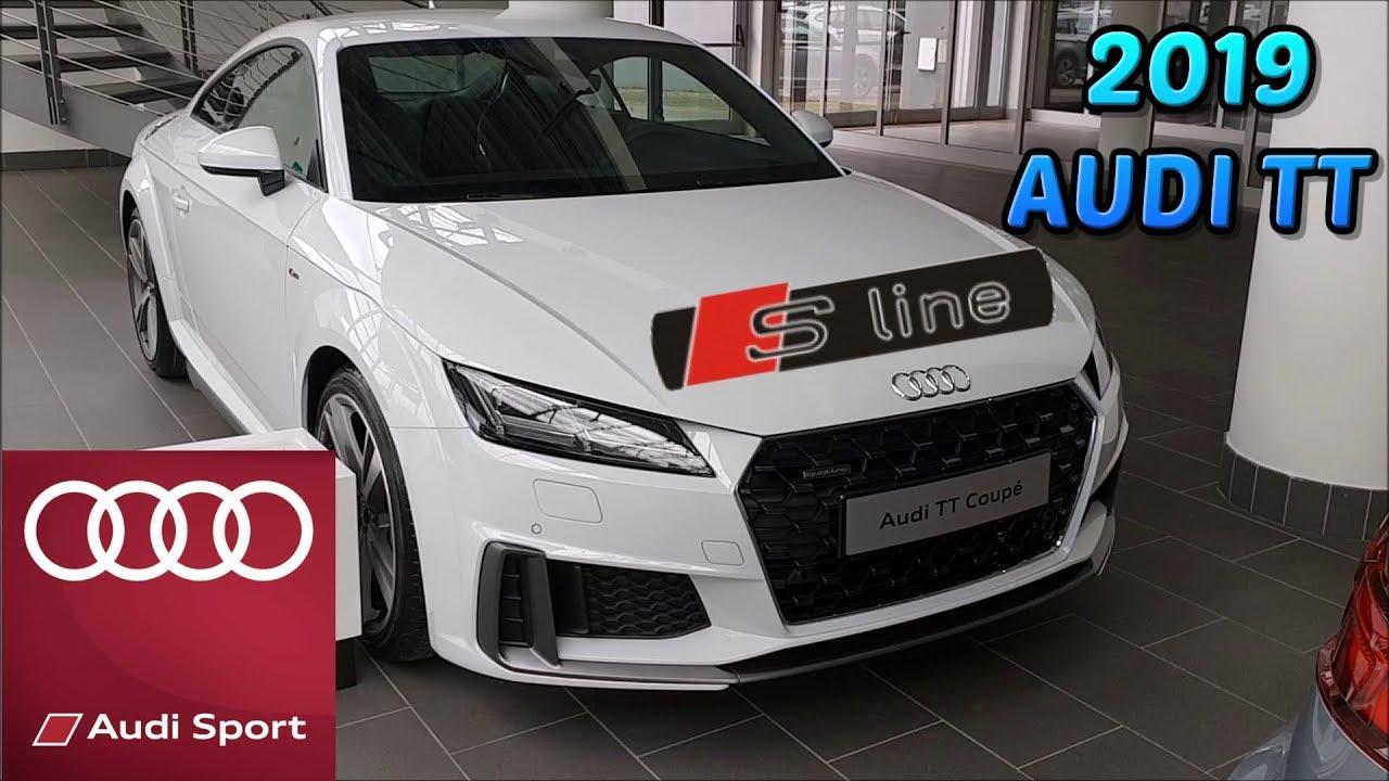 2019 New Audi TT S Line Quattro 245 HP - YouTube
