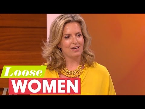 Penny Lancaster On ducing Herself To Rod Stewart's Children  Loose Women