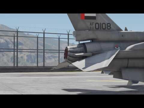 F-16 VISTA 3D Vectoring Nozzle Testing