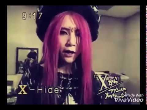 X JAPAN / HIDE comment