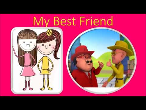 My best friend essay for children