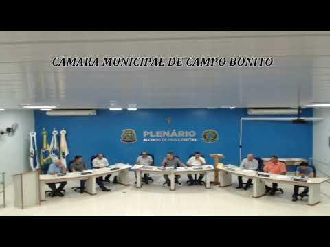 SESSÃO ORDINÁRIA 02/12/19 TV CÂMARA CAMPO BONITO