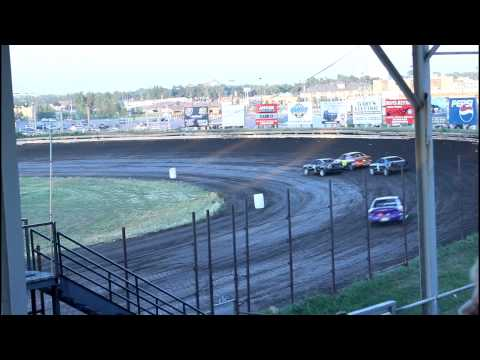 7/14/15 Nobles County Speedway IMCA Sport Compacts