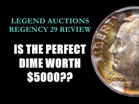 PRISTINE 1959 ROOSEVELT DIME SELLS FOR 5200 Is This Perfect Dime