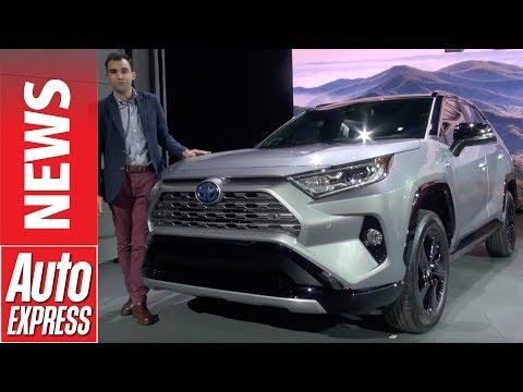 New Toyota RAV4 revealed with hybrid powertrain
