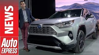 New Toyota RAV4 revealed with hybrid powertrain