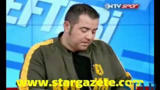 Ata Demirer, Rıdvan Dilmen'i gülme krizine soktu