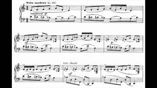 Francis Poulenc - Trois Mouvements Perpétuels